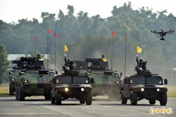 美國學者認為,美國提供台灣足夠軍備才是避免台海發生戰事的最佳辦法。(資料照)
