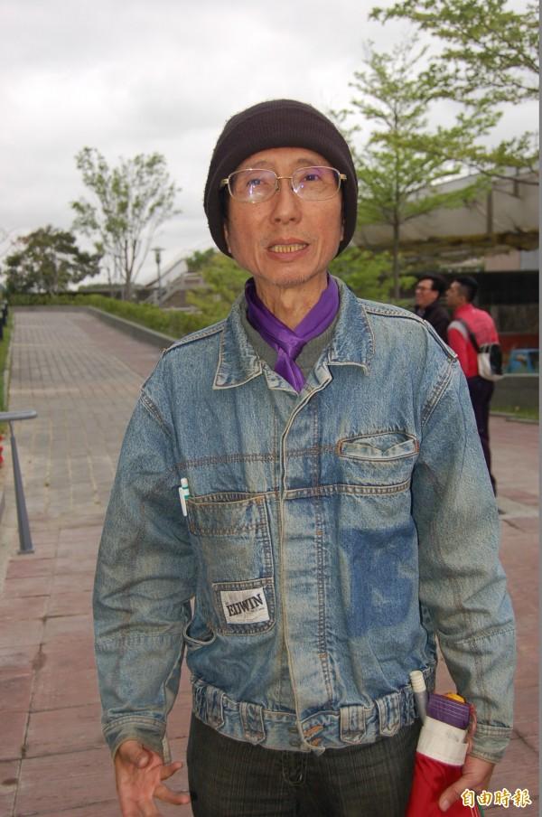 曾聲請釋憲遭駁回,申請結婚登記也被拒,祁家威苦等42年「修成正果」。(資料照,記者楊國文攝)