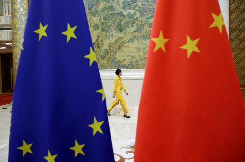 中國歐盟商會今(20)日表示,在中國被迫技術轉移的歐盟公司2年增1倍,對中國創造公平監督市場的期待前景「淒涼」。(路透)
