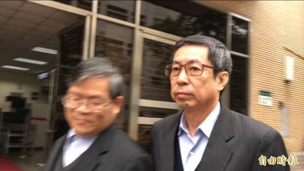 翁茂鍾曾因搭高鐵拒補票還罵人鬧上法院,並在法院內當庭道歉。(資料照)
