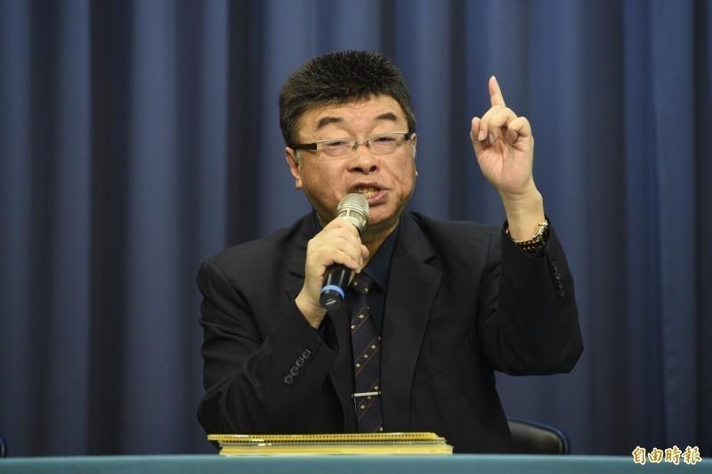 邱毅(見圖)認為,台獨並比SARS更嚴重,砲轟國民黨媚共的人居然都變成「台獨戰士」。(資料照)