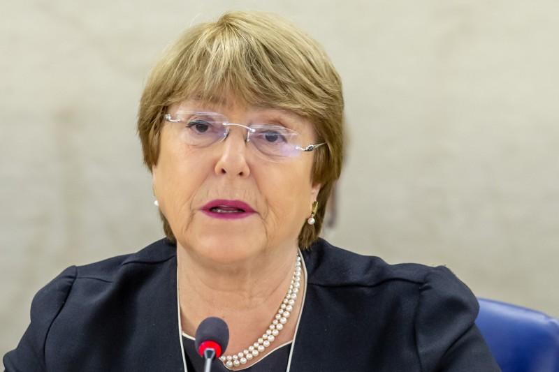 聯合國人權事務高級專員辦公室的高級專員巴舍萊(Michelle Bachelet)24日雖讚許林鄭月娥暫緩修訂該條例,但仍敦促港府在修訂任何法案前都應該廣泛徵求大眾的意見。(美聯社)