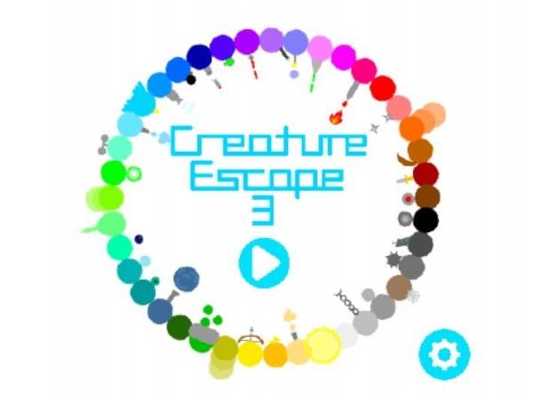 來自新北市的11歲小5學生「Derek」所創造的最新遊戲「Creature Escape 3」,獲得美國麻省理工學院(MIT)在官網「SCRATCH」上推薦。(圖擷取自麻省理工官網)