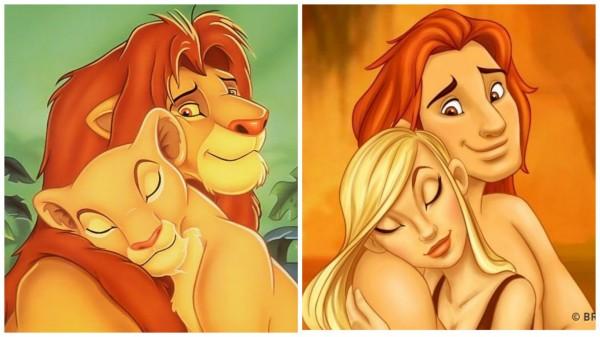 獅子王。(圖擷取自BRIGHT SIDE)