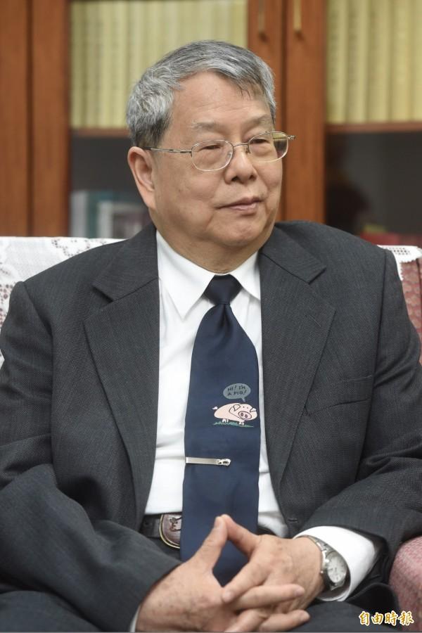 監委陳師孟。(資料照)