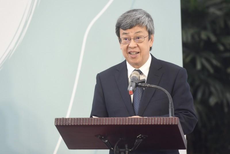 副總統陳建仁感謝司法院、行政院及立法院透過民主法治機制,捍衛台灣每個人追求幸福的權利。(資料照,記者簡榮豐攝)