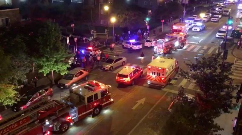 美華盛頓特區驚傳大規模槍擊案,6人中彈,其中1人死亡。(路透)