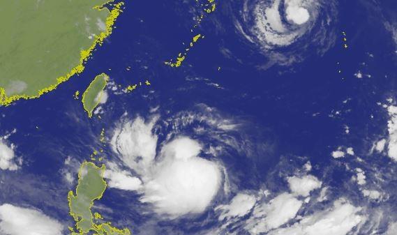 今年第9號颱風利奇馬持續增強中,未來幾天可能影響台灣。(圖擷取自中央氣象局)