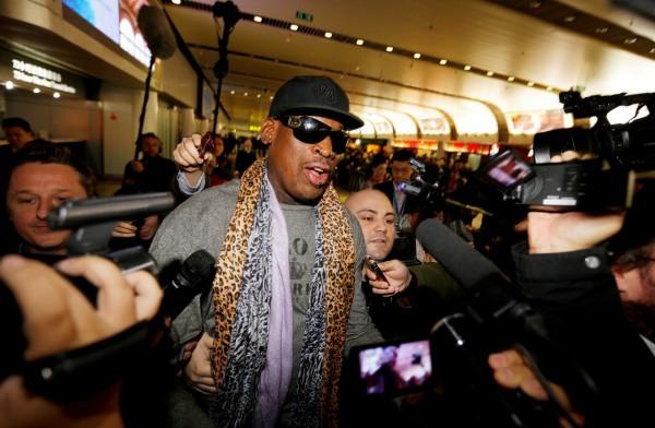 NBA名人堂球星羅德曼將訪問北韓。(路透)