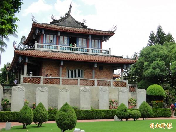 台南以豐富的古蹟及小吃聞名。(資料照,記者洪瑞琴攝)
