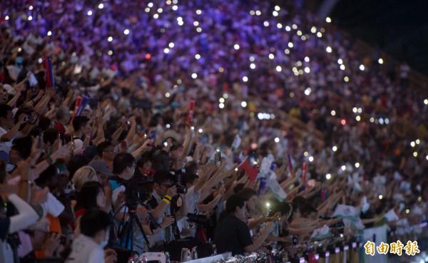 德國媒體稱台灣人「異常自信」,亟欲展現擁有舉辦大型賽事的實力,「民族自豪感在台灣前所未有的高漲」。(資料照,記者林正堃攝)