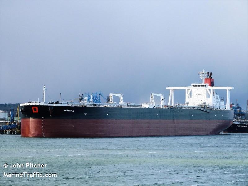 伊朗指出,「萬事達號」(Mesdar)油輪在被警告後,已經放行繼續行駛其航線。(路透資料照)