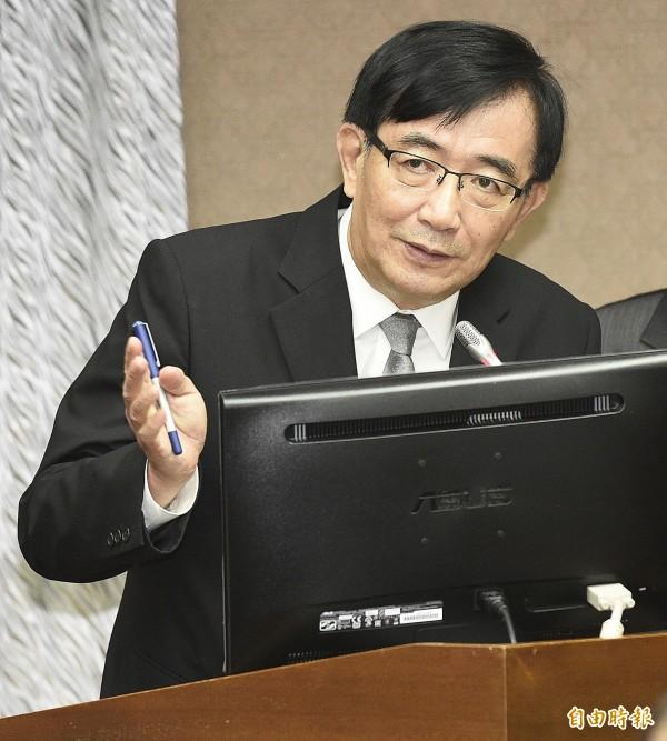 吳宏謀:昨晚才被告知要接交通部長。(資料照)
