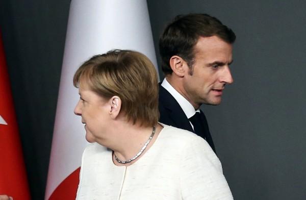 華郵記者哈紹吉被殺後,歐盟各國針對是否武器停運沙國意見分歧,德法兩國更是立場相左。(路透)