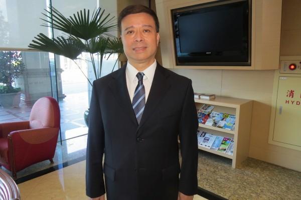 親民黨副秘書、基隆市立委參選人劉文雄(資料照,記者俞肇福攝)