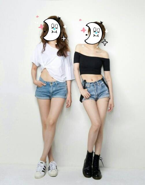 徐仁英(右)獨家公開顏值也超高的妹妹,這腿真是要逼死人啦!(取自Hi-KPOP)