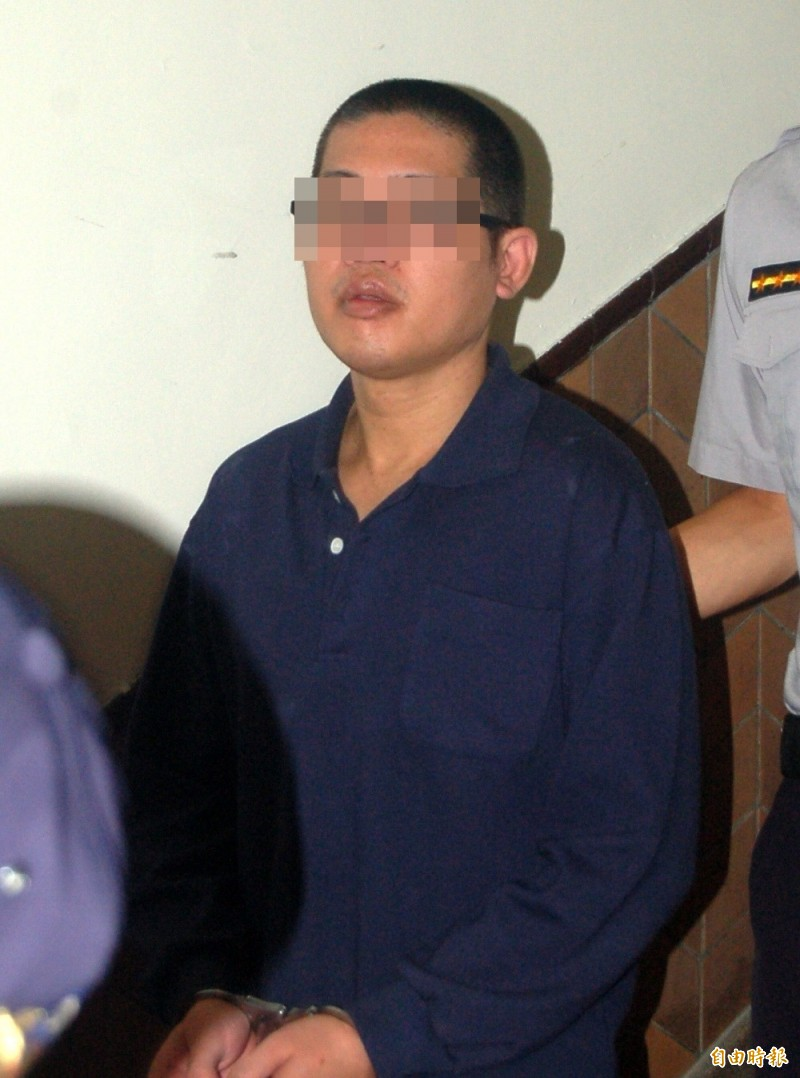 高院審理性侵強盜案,提訊共犯廖經緯聆判,他不服判決,表示將上訴。(記者楊國文攝)