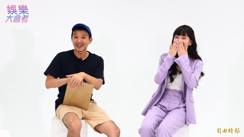 《聲林之王》第一季人氣選手,林怡廷來勢洶洶踢館!(記者胡姿霞攝)