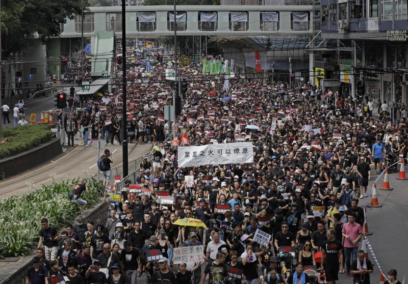 美國政治學者華特11日以〈香港會成為另一個愛沙尼亞嗎?〉為題,撰文投書雜誌《外交家》分析香港獨立問題。(美聯社)