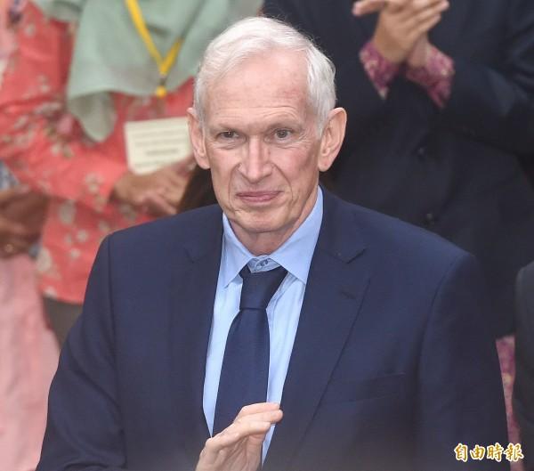 美國在台協會主席莫健表示,台美關係是「非常堅實」,但在貿易議題上,台灣仍須做些努力。(資料照,記者廖振輝攝)