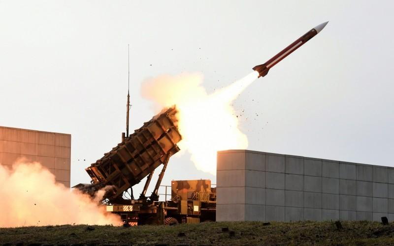 愛國者飛彈發射示意圖。(歐新社資料照)