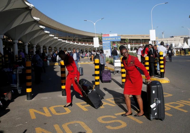 肯亞航空職業工會今發動罷工。(路透)