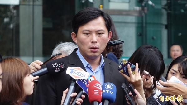 黃國昌呼籲政府、檢方全面徹查行賄廠商。(資料照)
