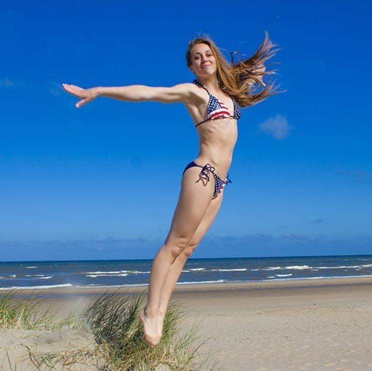 荷蘭前體操女將范黛樂兒(Verona van de Leur)。(圖擷自veronagymnast2 Instagram)