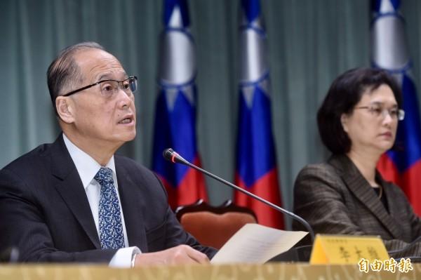 外交部長李大維、發言人王珮玲21日召開記者會,說明聖多美普林西比與台灣斷交一事。