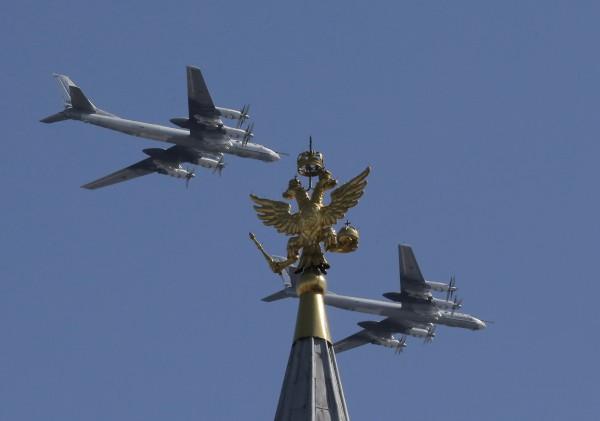 TU-95熊式戰略轟炸機(路透)
