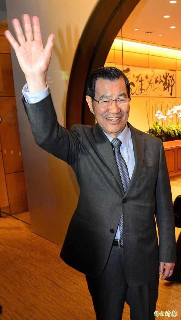前副總統蕭萬長。(資料照,記者姚介修攝)