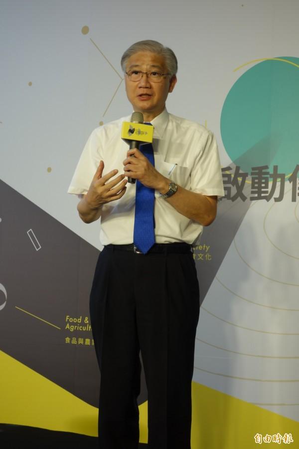 台大校長楊泮池認為,這次創創挑戰賽的最重要精神就是「教育」,要讓學生一步步學習如何創業。(記者吳柏軒攝)