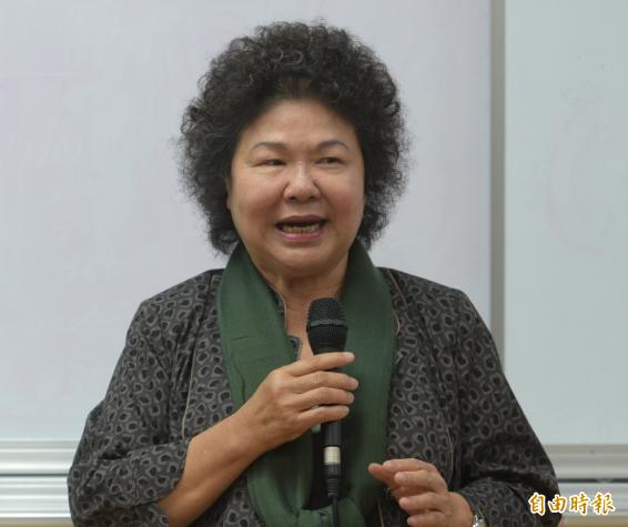 被問到有無可能披掛上陣選北市長?陳菊表示,她「尊重選對會最後的評估」。(資料照,記者張嘉明攝)