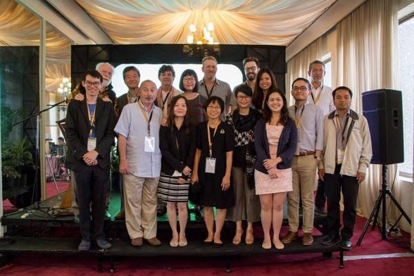 SEAPAVAA(東南亞暨亞太地區影音資料舘協會)全體委會。(南藝大提供)