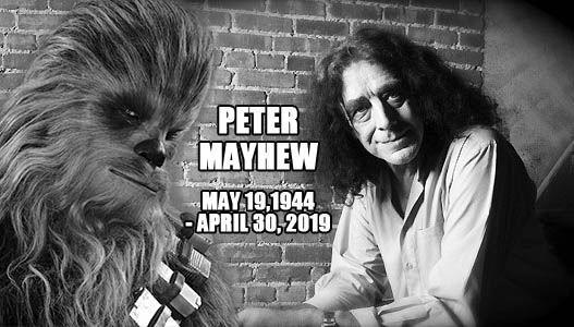 飾演「丘巴卡」的演員梅休(Peter Mayhew)於4月30日在家過世,享壽74歲。(圖翻攝自梅休臉書粉專)