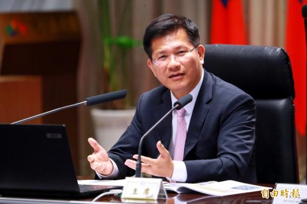 對於賄選指控,林佳龍表示,這是後援會自己辦活動表達支持,沒有對價關係,對方爆料擺烏龍。(資料照)