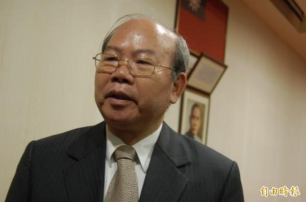 前檢察總長陳聰明。(資料照,記者廖淑玲攝)