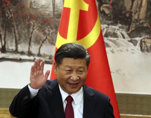 中共中央打算修憲,刪除中國國家主席連任限制;習近平下月起將進入第二任期,原本預定5年後卸任,如今不知會連任到何年何月。(美聯社)