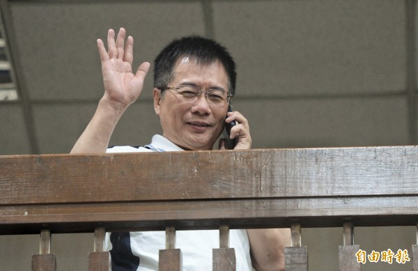 國民黨前政策會執行長蔡正元因涉侵吞中影公司上億資產被法院裁押。(資料照,記者林正堃攝)