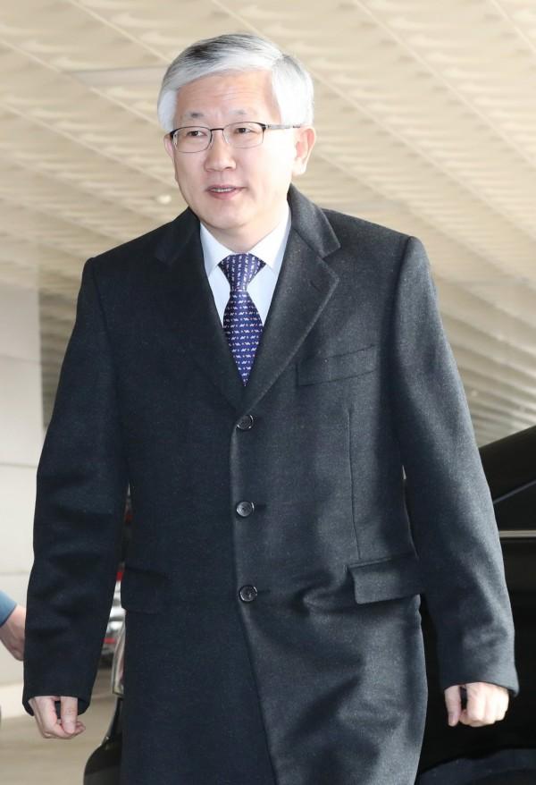 首爾正將派遣文在寅政府的國家安全辦公室副主任南侯沛(Nam Gwan Pyo,圖)和其他高級官員前往新加坡。(歐新社)