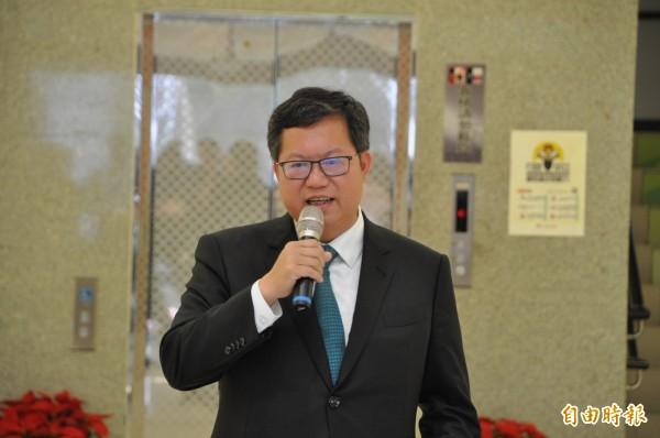 桃園市長鄭文燦的小內閣名單將於明天出爐,除了交通部已證實副市長王明德將轉任桃園機場公司董事長,其他人事異動鄭文燦口風相當緊。(資料照)
