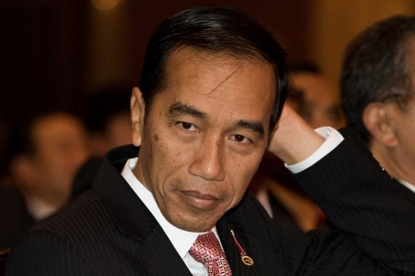 印尼總統佐科威2014年上任後,宣誓要嚴打毒品。(彭博)