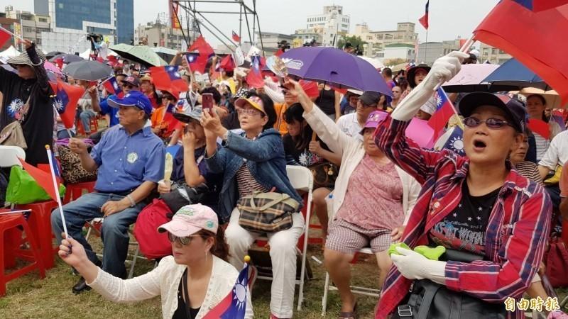 中國央視節目認為韓粉是韓民調下滑的主要原因之一。(資料照)