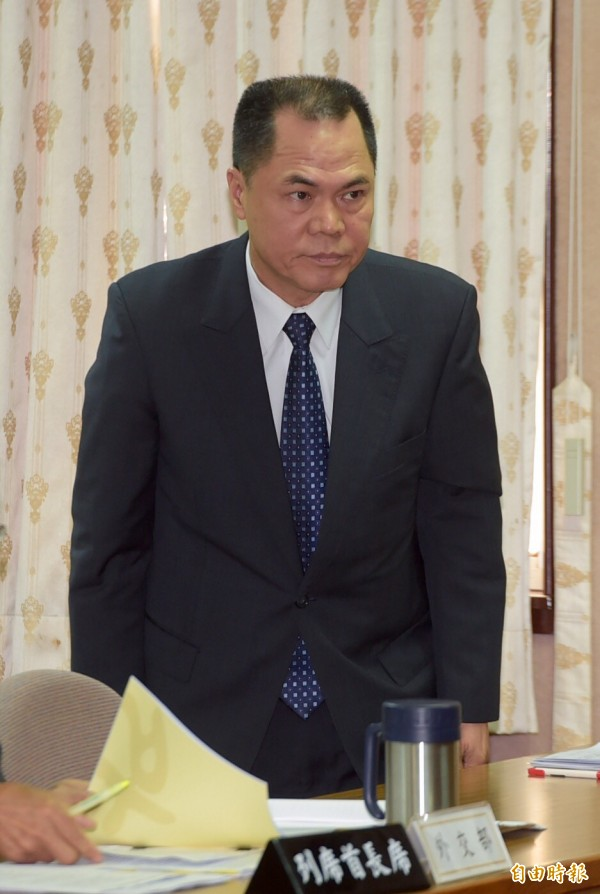 國安局副局長周美伍。(記者黃耀徵攝)