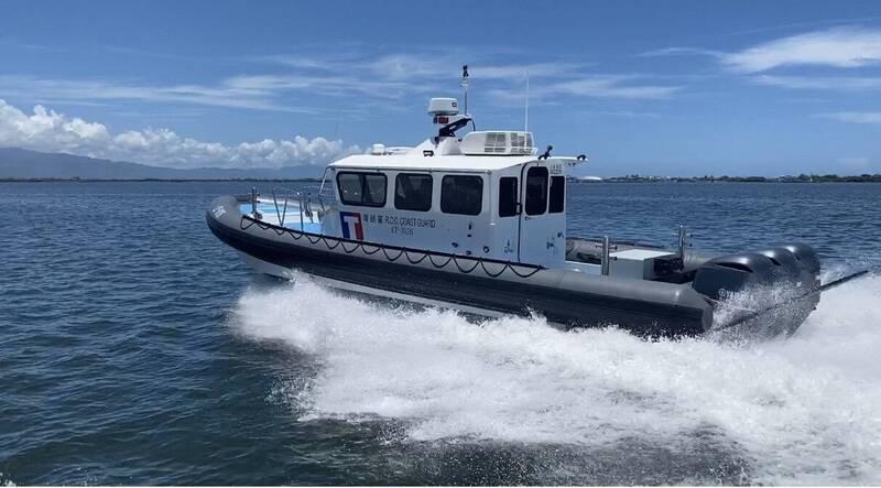 新建多功能艇具備速度快、吃水淺、靈活性高等特性。(海巡署提供)