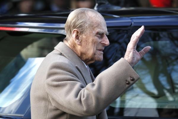 97歲的愛丁堡公爵、菲利浦親王驚傳車禍,幸虧沒有受傷。(美聯社)