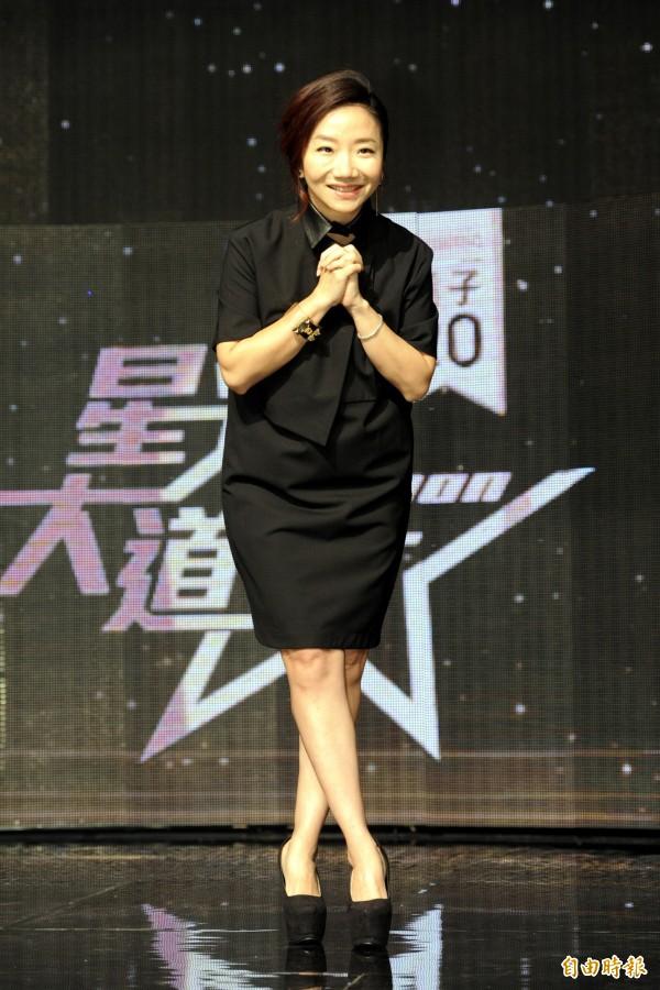 陶晶瑩主持的「星光大道」本週將重返週六綜藝黃金檔。(資料照,記者趙世勳攝)