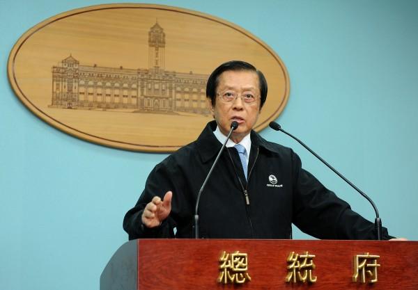 總統府秘書長楊進添請辭獲准,獲聘為總統府資政。(資料照,記者劉信德攝)