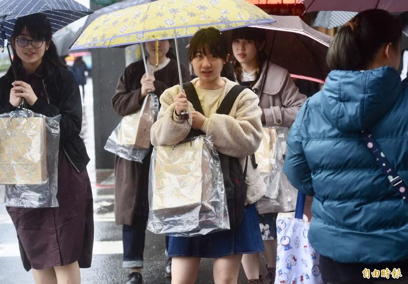 氣溫再下降!週六北台灣白天探16度 各地降雨機率提高