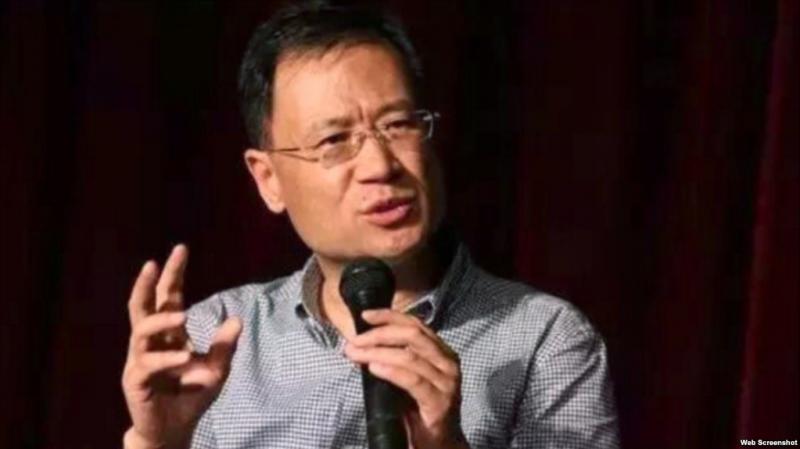 中國知名法學家、北京清華大學教授許章潤。(圖擷取自網路)